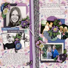 Kit: Forget me not - LJS Designs @GS OR @TDC Template: Days gone by Vol 1 - Dagi's Temp-tations Font Caviar Dreams