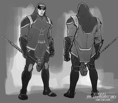 Guardiões da Galáxia - Artes conceituais mostram personagem não utilizado no filme! - Legião dos Heróis