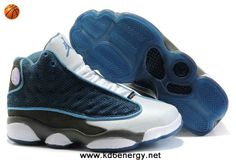Navy Blue/White Women Air Jordan 13 XIII Newest Now