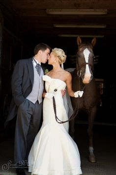 Have your wedding at Sunnyfield and board your horses too!! This is a true working stable and equestrian center!