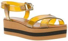 Fendi platform sandal Fendi