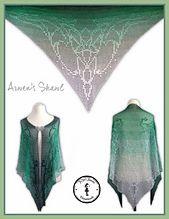 Dieses Muster kann man als Tuch, Schal, Gardine oder sonstiges häkeln. Viel Spaß