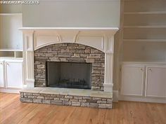 Ideas to reface the fireplace.