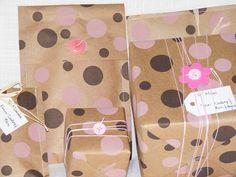 sew craft paper bags