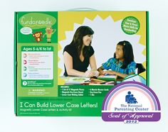 Fundanoodle's Lowercase Muscle Movers was awarded the National Parenting Center Seal of Approval for 2012.