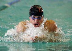 Brendan Hansen (USA, Men's Swimming, Athens 2004, 1 Gold, 1 Silver, 1 Bronze; Beijing 2008,1 Gold; London 2012) #hornsinlondon