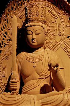 虚空蔵菩薩像 | 特注の仏像販売・仏像彫刻の専門店の仏像彫刻原田
