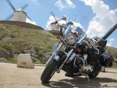 La Kawasaki VN900 de Cerezo.  Esta foro es la ganadora del mes de junio.