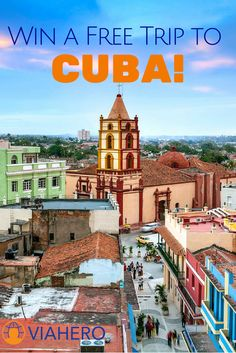 Enter to win a free, custom trip to Cuba! Planned by our local experts (includes airfare & lodging as well)! http://www.viahero.com/cuba-giveaway/