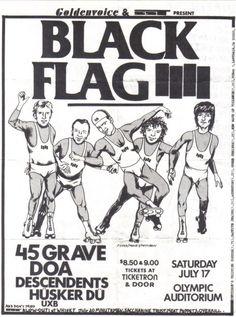 Black Flag show