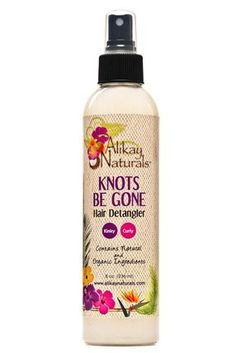Cuts down detangling time by making the process easier. Scented with calming jasmine, this botanical infused blend gives your hair slip and moisture for easy manipulation to loosen stubborn tangles an