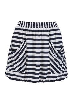 Knit Striped Skirt with Pockets - I just got this & love it!