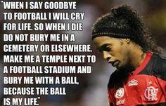 Ronaldinho. This is beautiful