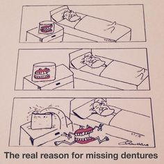 Now we know how dentures go missing #funnypic #mao #lol #dabs #bruh #funny #humor #relatable #lit #blowed #dental #dentalhumor #dentures #funnyshit #cartoons #funnypics #horror #drawing #comical #share by jestbeyond Our Dentures Page: http://www.myimagedental.com/services/general-dentistry/dentures/ Other General Dentistry services we offer: http://www.myimagedental.com/services/general-dentistry/ Google My Business: https://plus.google.com/ImageDentalStockton/about Our Yelp Page…