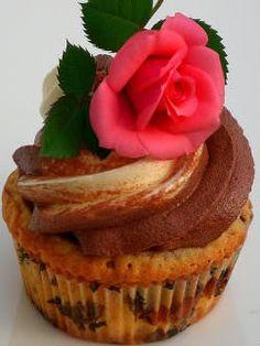 Receita de Cupcake Marmorizado