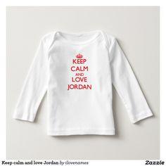 Keep calm and love Jordan T Shirt