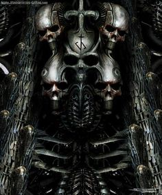 h.r giger art | Giger inspired painting by ~AtomiccircuS on deviantART