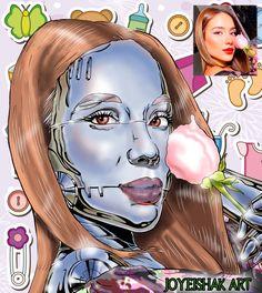 Cyber, Princess Zelda, Fan Art, Fictional Characters, Instagram, Make Art, Illustrator, Draw, Portraits
