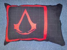 díszpárnahuzat fiúknak, számítógépes játék logójával/ pillowcase for boys with a computergame logo