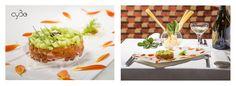 Che ne dite di un ottimo crudo per questa sera?  Oggi vi proponiamo: Tartare di salmone e cetrioli, con salsa acida all'erba cipollina. Buon appetito!  #cyboroma