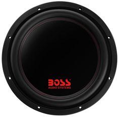 """Boss Audio Systems P129DC 2600W 12"""" Dual 4 Ω Voice Coil Subwoofer, Diecast Aluminum Basket"""