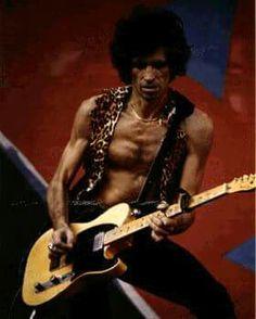 Keith Richards 1981