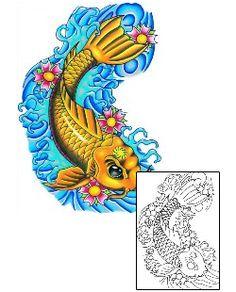 Show details for Marine Life Tattoo Marine Life tattoo | TAF-00052