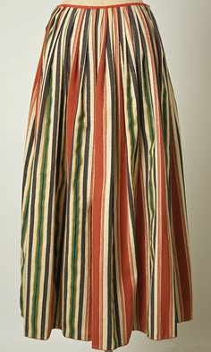 Ensemble                                                                                      Date:                                        1800–1941                                                          Culture:                                        Dutch                                                          Medium:                                        wool, cotton, metal #NoordHolland #Volendam