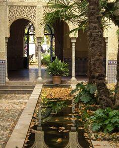 """Granada: carmen de """"Los mártires""""."""