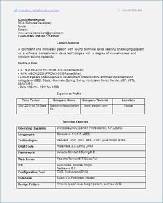 Resume Sample For Experienced Best Resume Format For Experienced Professional  Resume Format And .