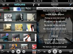 iAlbums is a new, completely free iPhone app that wants to enhance the way you listen to music on your iPhone. It makes it easy to read more about your fave artists (including interviews and bios), look up lyrics to songs you just can't help but sing along to, and if nothing else, have a sexy, visualization of all the albums in your music library!