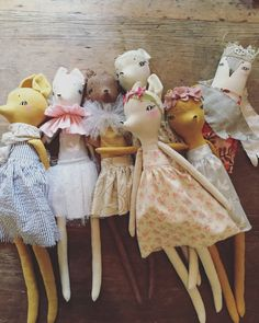 forest creature dolls — Home