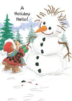 Suzy's Zoo Christmas Cards