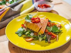 "Salmon and Vegetable ""Stir-Fry Cheat Sheet"" Recipe 