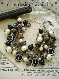 Typewriter Key Jewelry