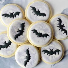 Baking was getting a little batty over here 🎃 Oct 30, Bats, Happy Halloween, Decorative Plates, Marble, Cookies, Baking, Instagram Posts, Desserts