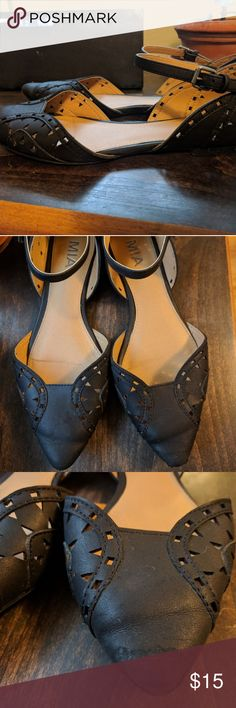 MIA Pointy Mary Jane Flats Some signs of wear, but lots of life left in them! Mia Shoes Flats & Loafers