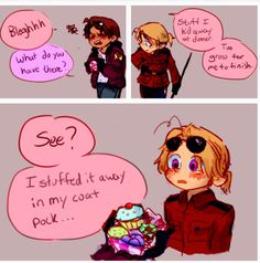 Hetalia - Little 2p America and 2p Canada : Sweets Part 1 / 3