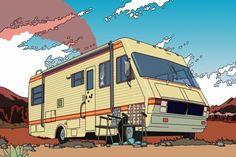 Breaking Bad caravana