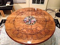super cool/awesome Magic the Gathering game table