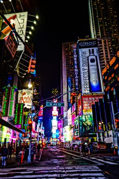 Times Square... Have to go at least once... preferably on the way to a Broadway Show...