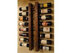 Stojan na vino - vina nástěnný 16 lahví