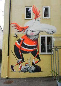 Street Artist: #ZED1 in Italy #streetart