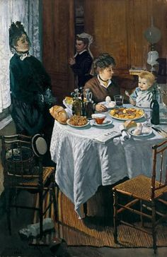 Le Dejeuner (The Luncheon), 1868 // Claude Monet