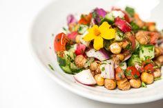 Salat vom Biohotel Schwanen