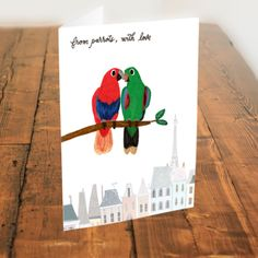 Baby Shower Greeting Cards, Happy Sun, First Birthdays, Cool Designs, Original Paintings, Art Prints, Parrots, Create, Etsy