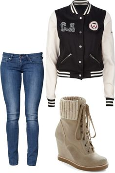 """snow"" by karla-urquizo ❤ liked on Polyvore"