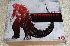 X-Plus Toho 30cm Series GODZILLA 2014 Garage Toy Figure from Japan