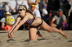 Summer Ross was playing on the AVP