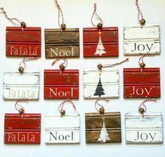 Christmas Ornament Crafts, Christmas Signs, Christmas Art, Christmas Projects, Winter Christmas, All Things Christmas, Holiday Crafts, Christmas Decorations, Christmas Ideas